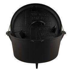 The Windmill Cast Iron Dutch oven 9Q 8,5L - Pan - Gietijzer - Large