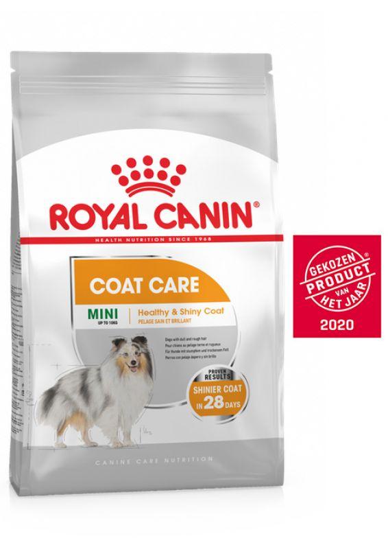 Royal Canin Coat Care Mini Hondenvoer 8kg
