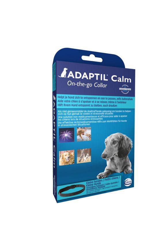 Adaptil Calm Halsband S M Anti Stress Blauw 1stuk