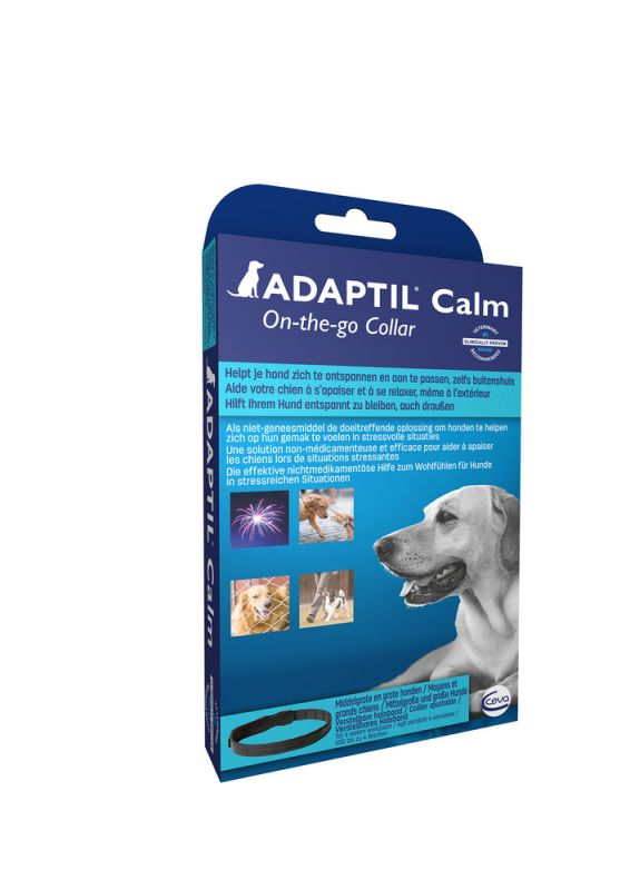 Adaptil Calm Halsband L Anti Stress Blauw 1stuk
