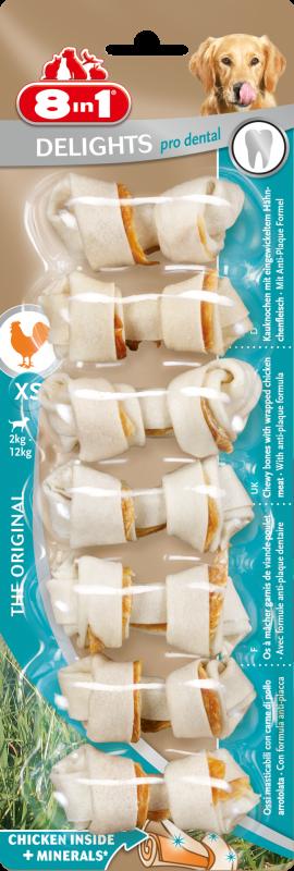 8IN1 Pro Dental Kauwbot Hondensnack XS 30cm doos 7stuks