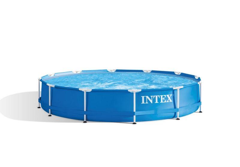 Intex Frame Pool - Zwembaden - Blauw - Ø366x76cm - Rond