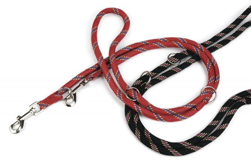 Beeztees Verstelbaar - Looplijnen - Zwart - 240 CM X 13 MM
