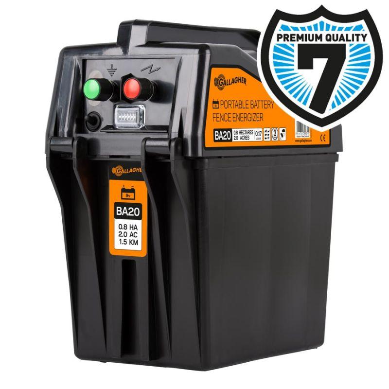 Gallagher BA20 Batterij apparaat 9v 9600 0.17